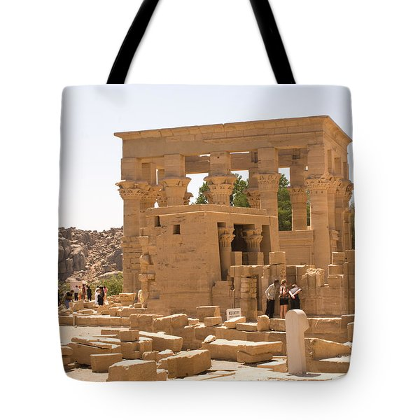 Old Structure Tote Bag