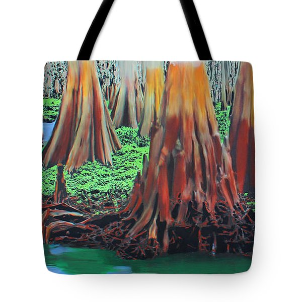 Old Swampy Tote Bag