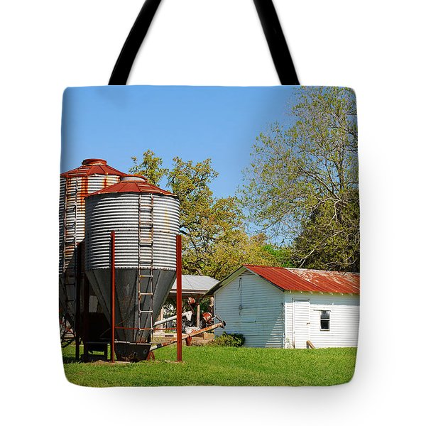 Old Texas Farm Tote Bag