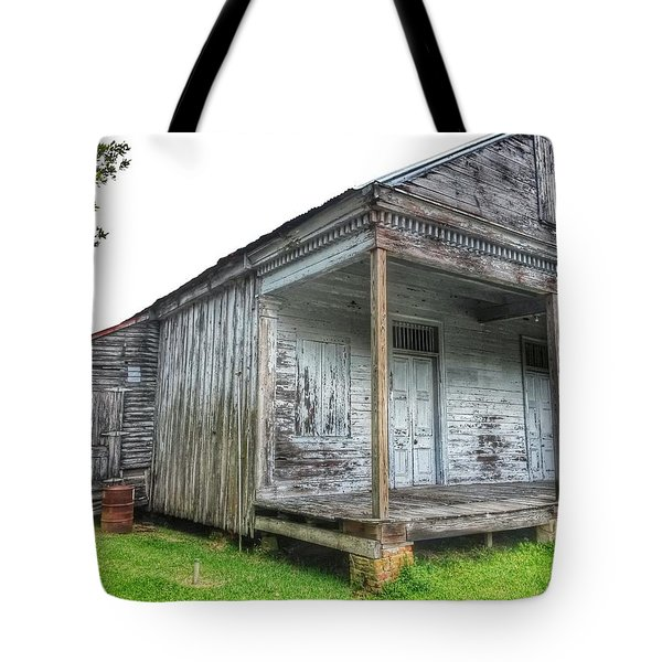 Old Theriot Post Office Tote Bag
