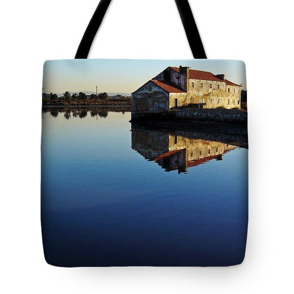 Old Tide Mill Tote Bag by Jose Elias - Sofia Pereira