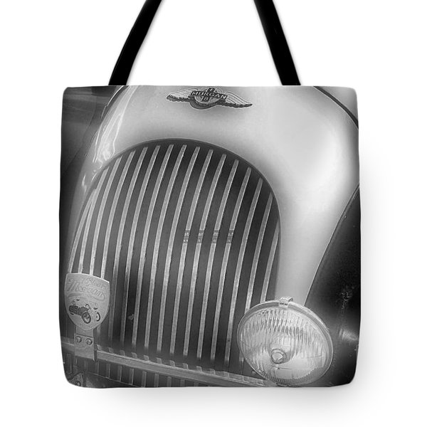 Tote Bag featuring the photograph Old Time Car 2 by John S