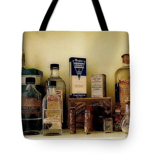 Old-time Remedies Tote Bag by RC deWinter