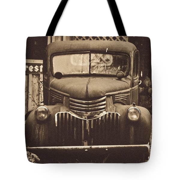 Old Times Tote Bag by Alana Ranney