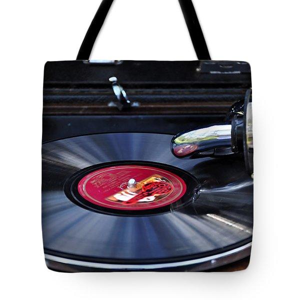 Old Times Tote Bag by Kaye Menner