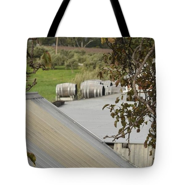 Old Tin Roof  Tote Bag