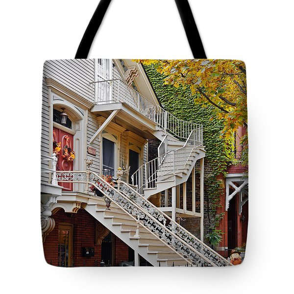 Old Town Chicago Living Tote Bag