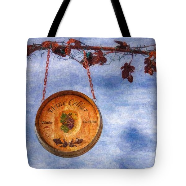 Verde Valley Wine Trail Tote Bag by Priscilla Burgers