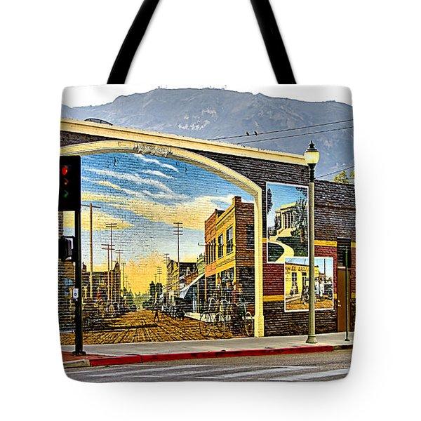 Old Town Mural Tote Bag
