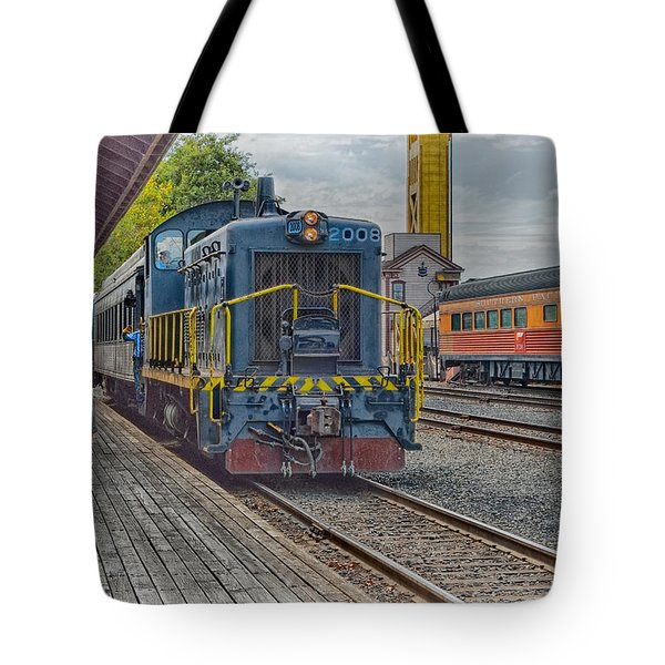 Old Town Sacramento Railroad Tote Bag