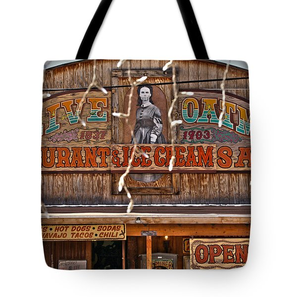 Old Town Saloon Tote Bag