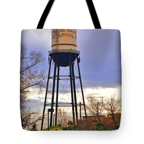 Old Towne Arvada Tote Bag