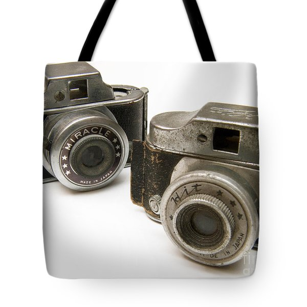 Old Toy Cameras Tote Bag