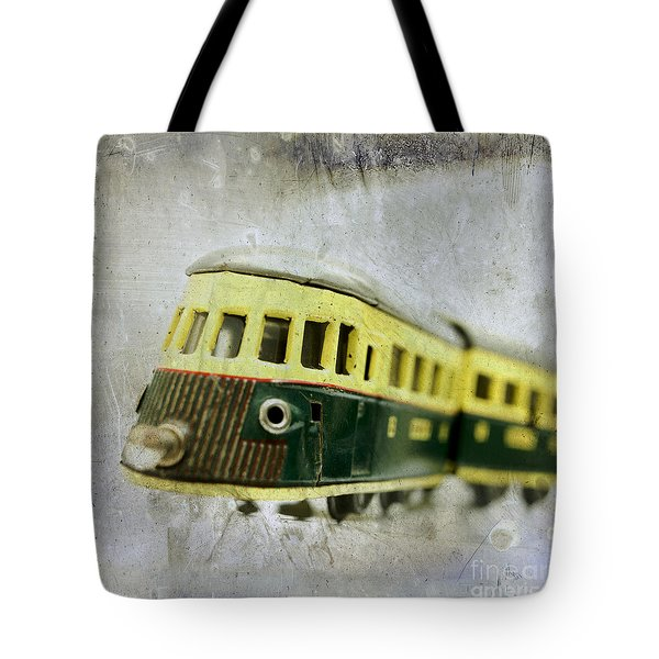 Old Toy-train Tote Bag