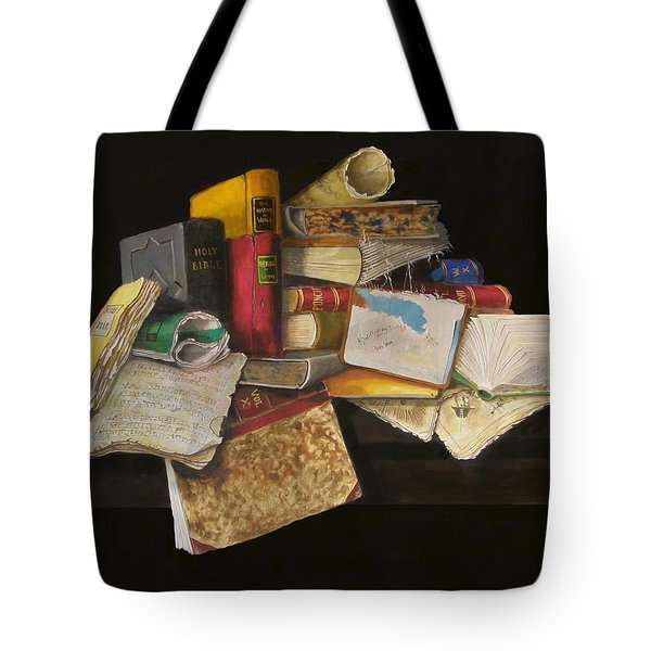 Tote Bag featuring the painting Old Traditions by Barry Williamson