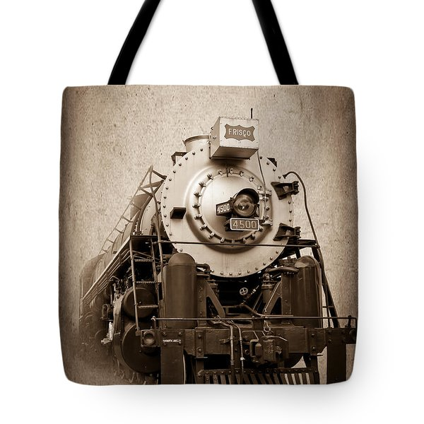 Old Trains Tote Bag