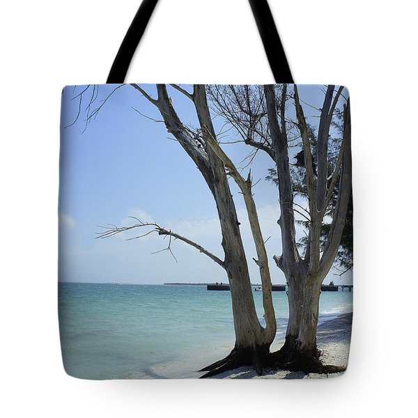 Tote Bag featuring the photograph Old Tree by Laurie Perry