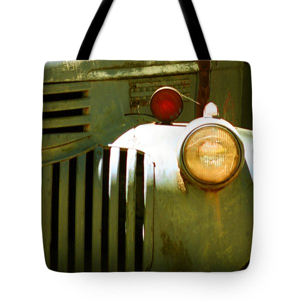 Old Truck Abstract Tote Bag by Ben and Raisa Gertsberg
