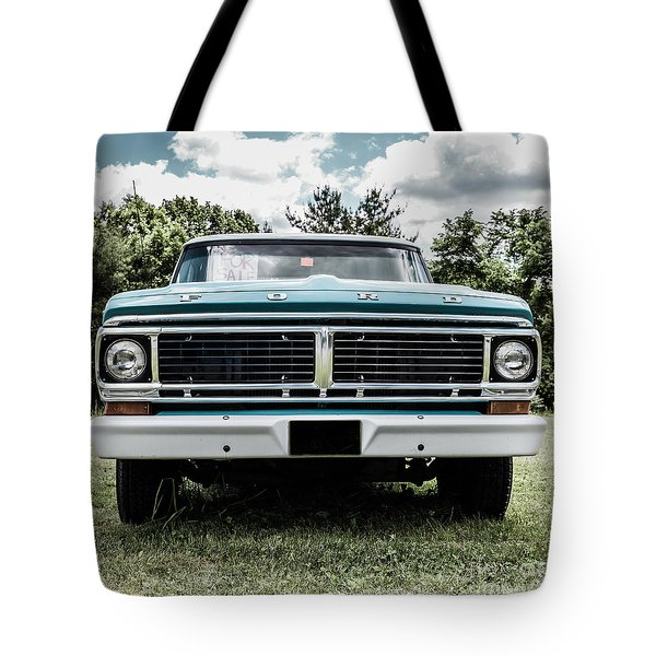 Old Ford Truck For Sale Tote Bag