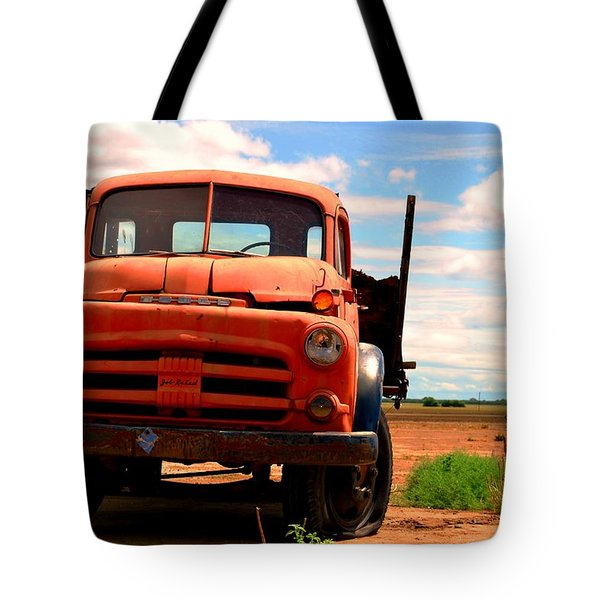 Tote Bag featuring the photograph Old Truck by Matt Harang