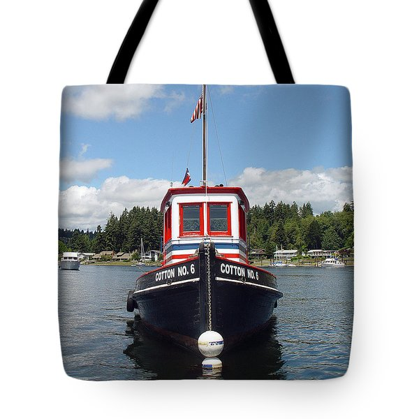 Old Tug Tote Bag