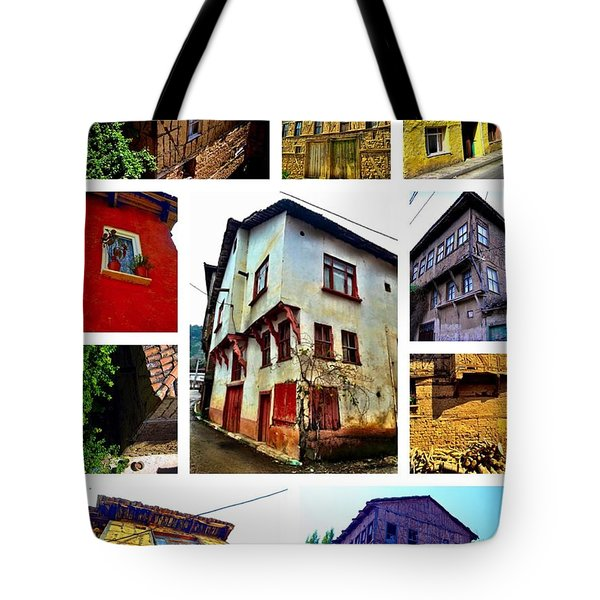 Old Turkish Houses Tote Bag