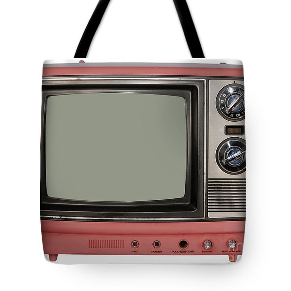 Vintage Tv Set Tote Bag