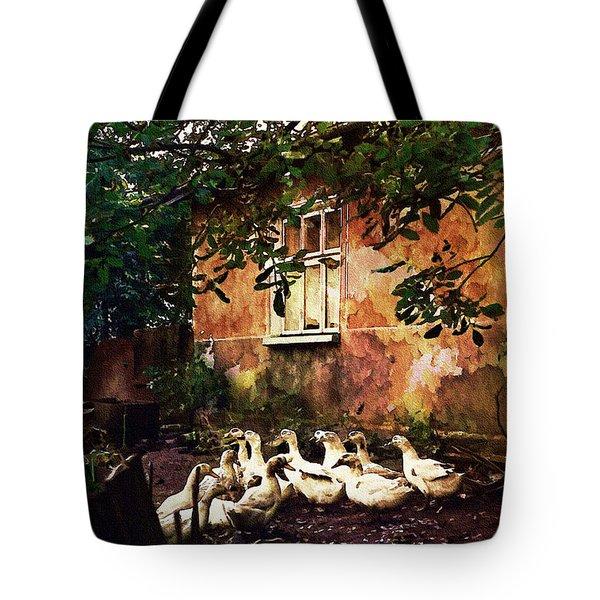 Old Ukrainian Village Tote Bag by Julie Palencia