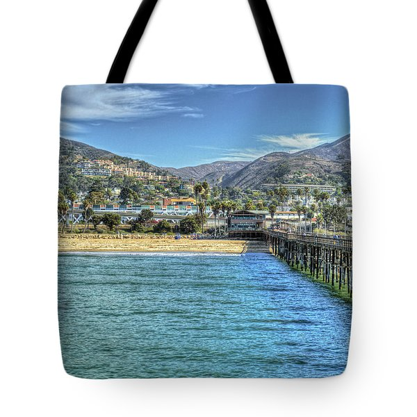 Old Ventura City From The Pier Tote Bag
