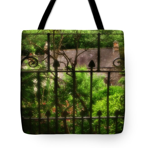 Old Victorian Gate - Peak District - England Tote Bag by Doc Braham