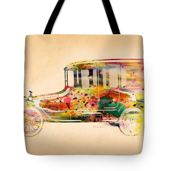 Old Volkswagen3 Tote Bag by Mark Ashkenazi
