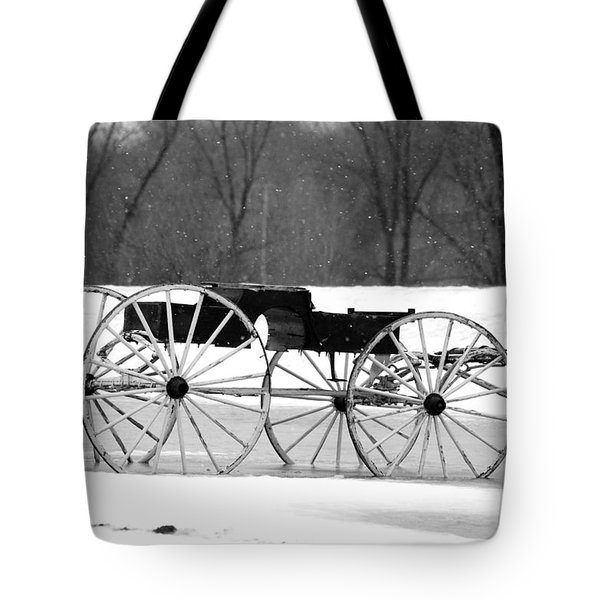 Old Wagon No.1 Tote Bag by Janice Adomeit
