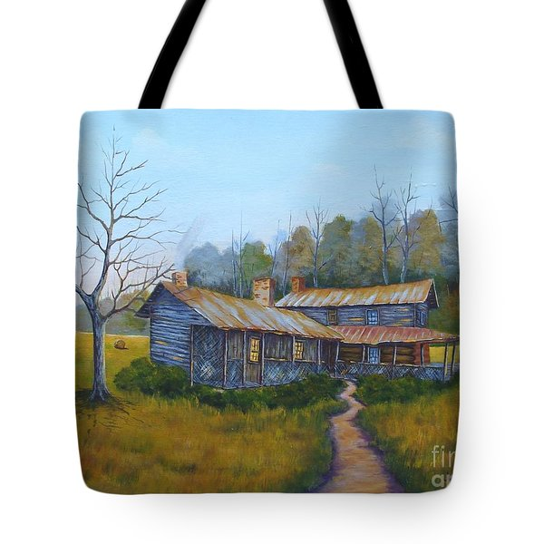 Old Walker Homestead #2 Tote Bag