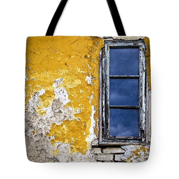Old Wall In Serbia Tote Bag