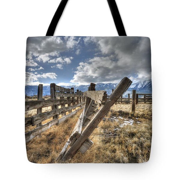 Old Washoe Corral Tote Bag by Dianne Phelps
