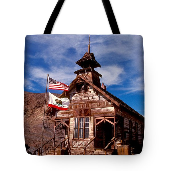 Old West School Days Tote Bag