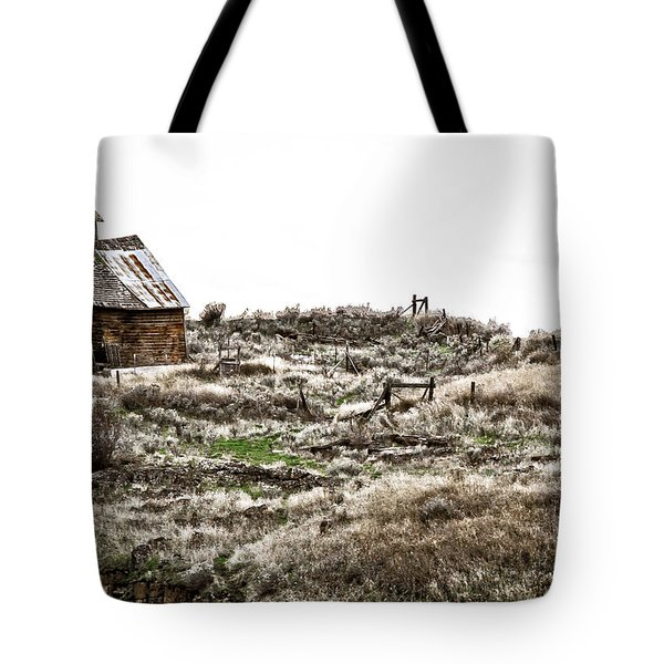 Old West School  Tote Bag by Steve McKinzie