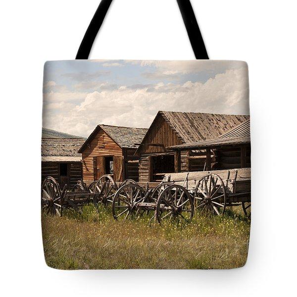 Old West Wyoming  Tote Bag
