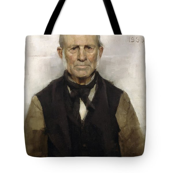 Old Willie - The Village Worthy, 1886 Tote Bag
