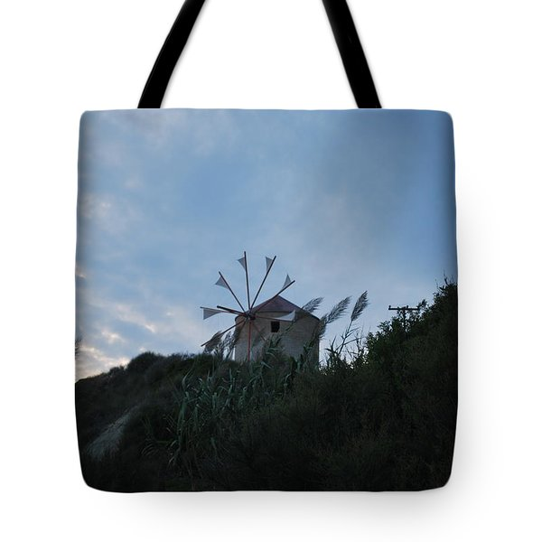 Old Wind Mill 1830 Tote Bag