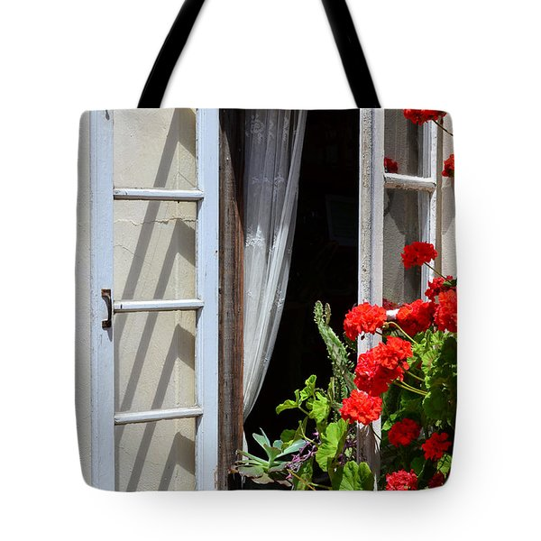 Tote Bag featuring the photograph Old Window by Debby Pueschel