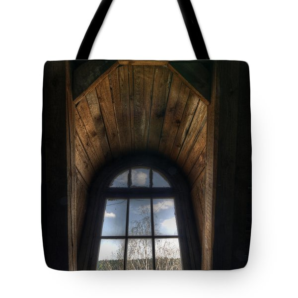 Old Wooden Window Tote Bag by Nathan Wright