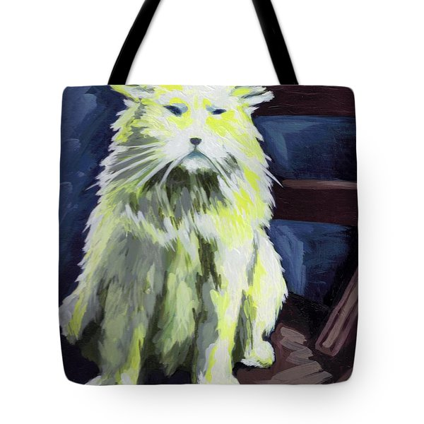 Old World Cat Tote Bag