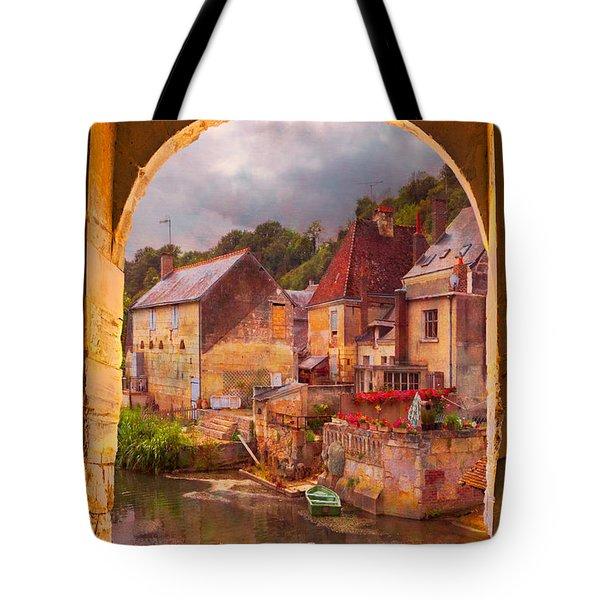 Old World Tote Bag by Debra and Dave Vanderlaan