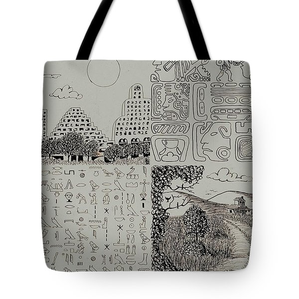 Old World New World Tote Bag