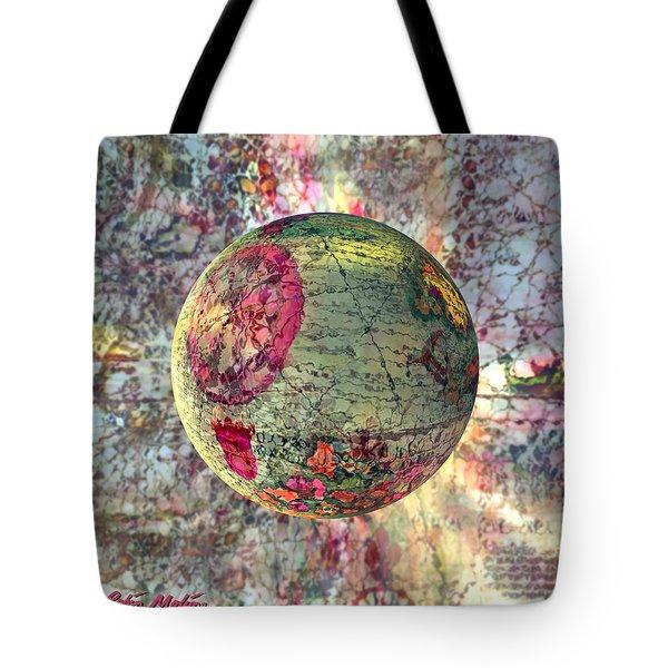 Old World Poppling Tote Bag