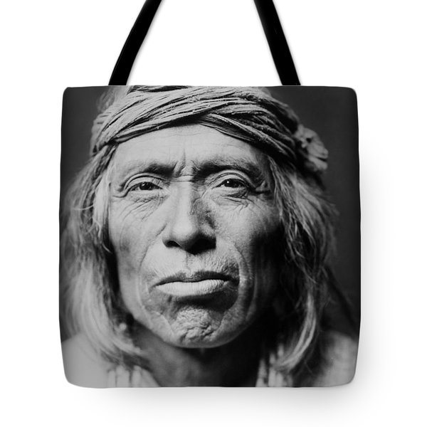Old Zuni Man Circa 1903 Tote Bag