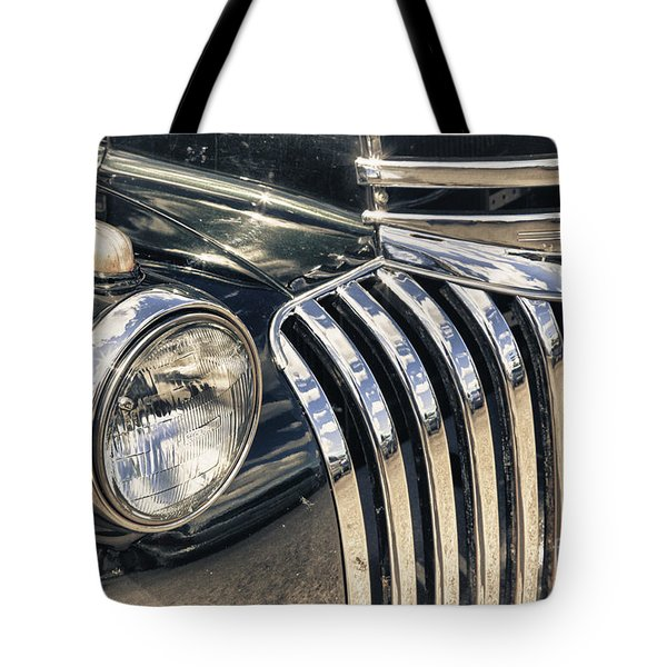 Oldblackchevytruck Tote Bag by Lori Frostad