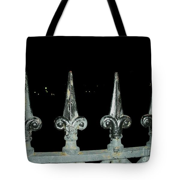 Tote Bag featuring the photograph Olde Fence by Joseph Baril