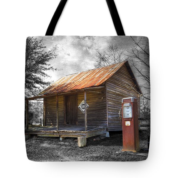 Olden Days Tote Bag by Debra and Dave Vanderlaan
